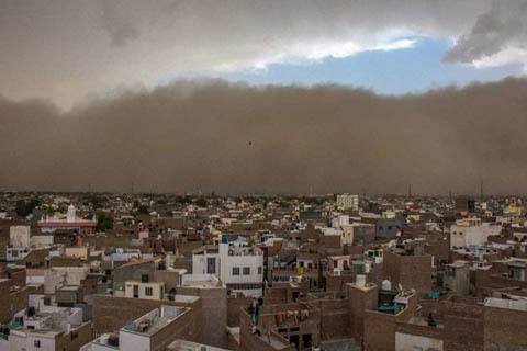 The sandstorm in India: the death toll has risen to 125 people