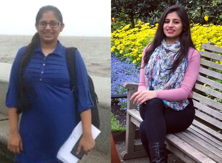 This girl did not follow any diet and still lost 19 kgs
