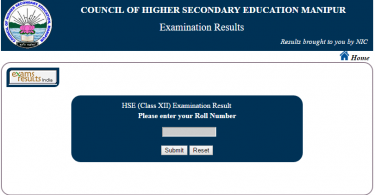 COHSEM HSC 12th results 2018 declared at manresults.nic.in, 67.04% passed