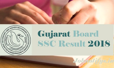 GSEB SSC Result 2018: Gujarat Board Class 10 results on gseb.org