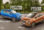 Ford EcoSport S, Signature Edition launched, Get price, Features & Specification