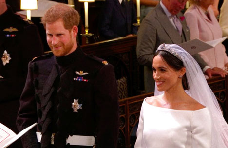 Watch Prince Harry & Meghan Markle's Royal Wedding Ceremony