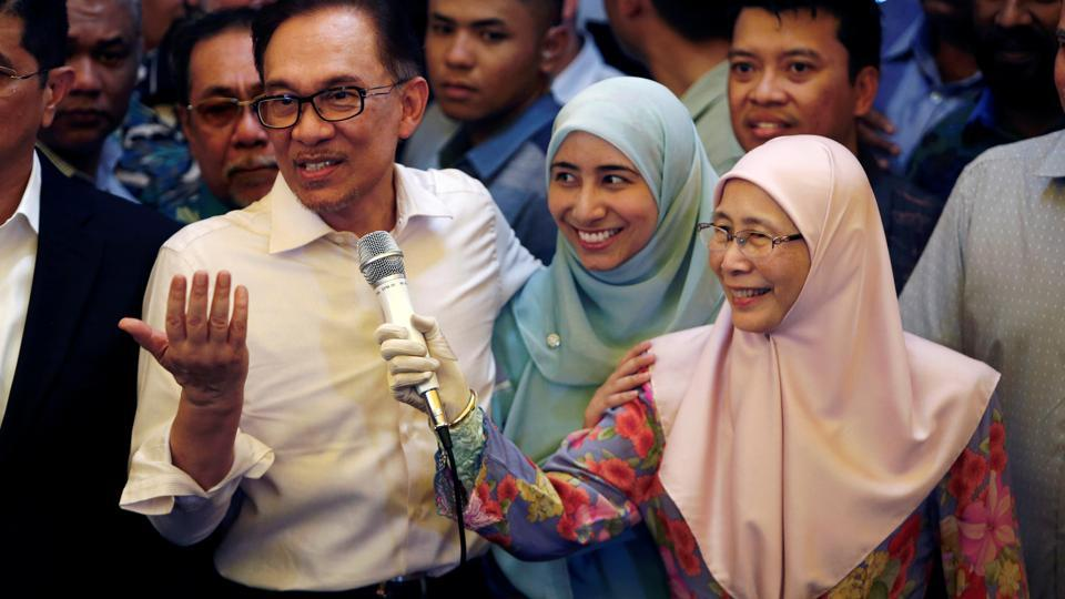 Anwar Ibrahim declares new dawn for Malaysia after release