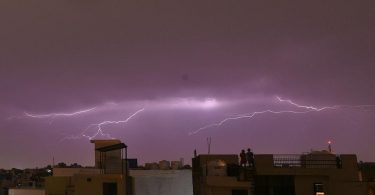 IMD Predicted Thunderstorm in North Western Himalayan States on Sunday