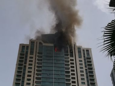 Fire Breaks Out at Beaumonde Towers in Mumbai's Worli ...
