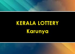 Karunya Lottery KR 407 Results 03-08-2019 Kerala Lottery Result Live