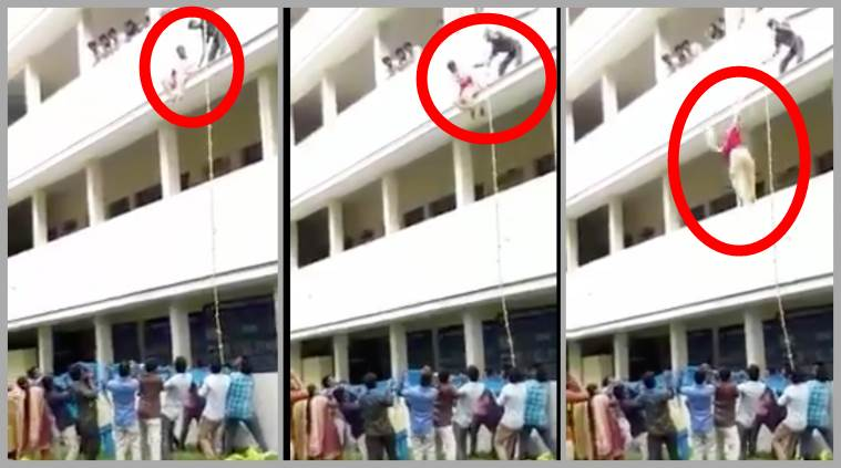Coimbatore college girl pushed to death during disaster drill