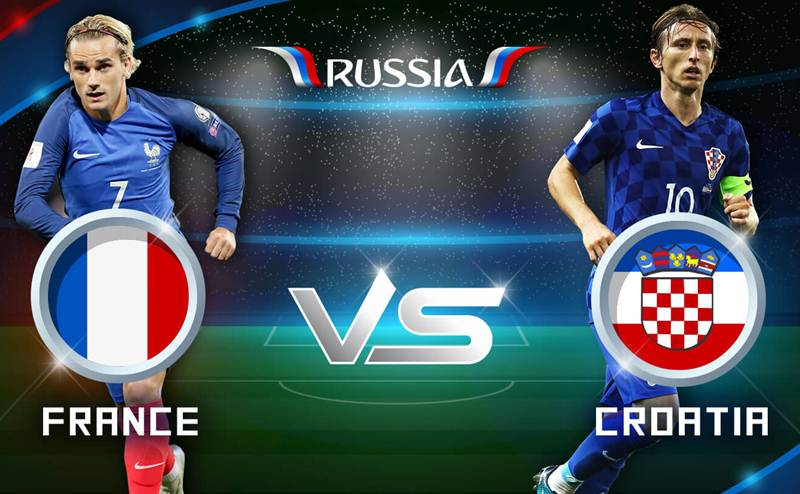 Watch France vs Croatia LIVE Score Streaming World Cup final