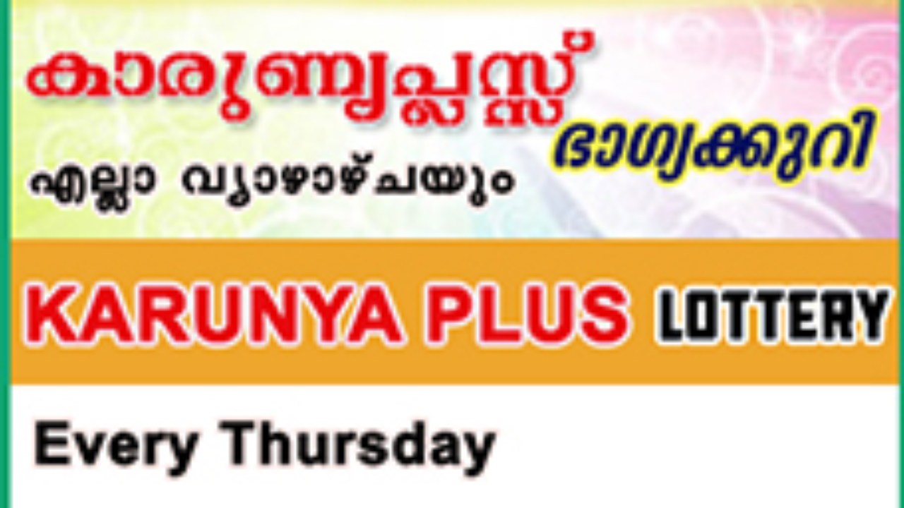 Live: Karunya Plus Lottery KN 277 Results 08-08-2019 Kerala Lottery