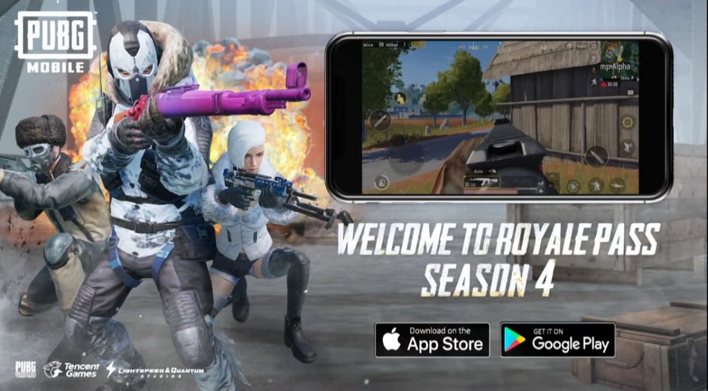 Pubg Mobile 0 9 5 Update With Royale Pass Season 4 Released Check