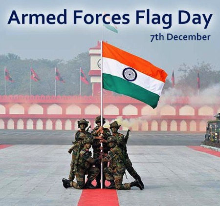 Happy Indian Armed Forces Flag Day 2018 Quotes Sayings Whatsapp