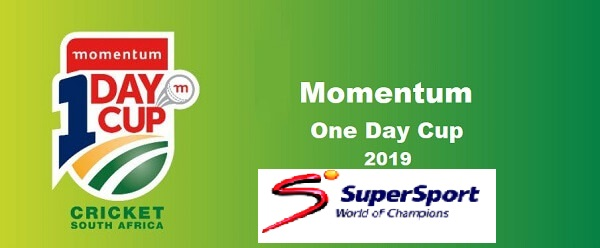 Momentum One Day Cup 2019 Live Streaming & TV Channel: MODC