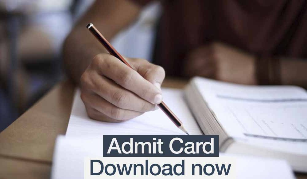 Image result for SSB Non Government AIDED Lecturer Admit Card 2019