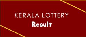 Live: Nirmal Lottery NR 133 Results 09-08-2019 Kerala Lottery Result