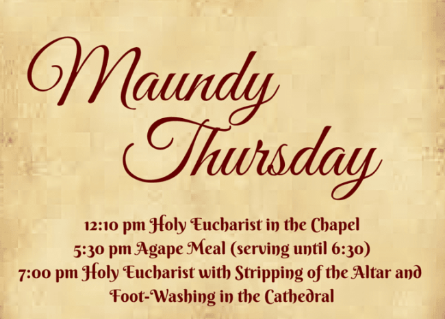 Happy Maundy Thursday 2019 Quotes Wishes Sayings Bible Verses