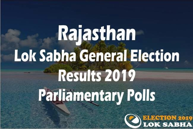 Rajasthan Lok Sabha Elections Results 2019: Live Vote Counting