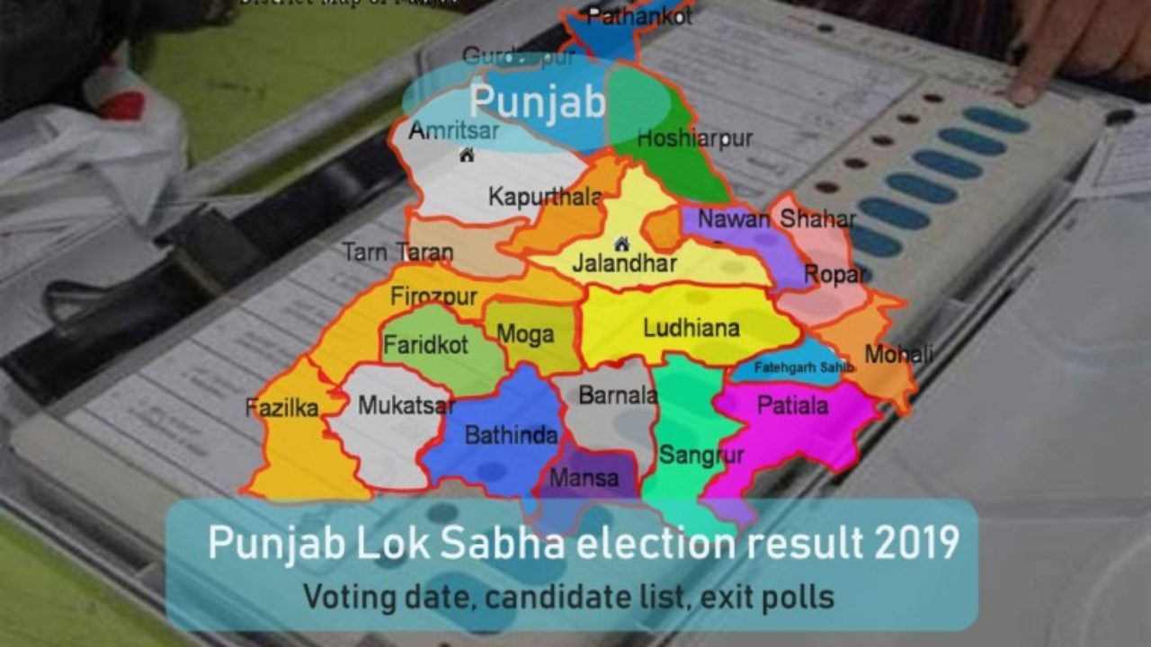 Punjab Lok Sabha Elections Results 2019: Live Vote Counting