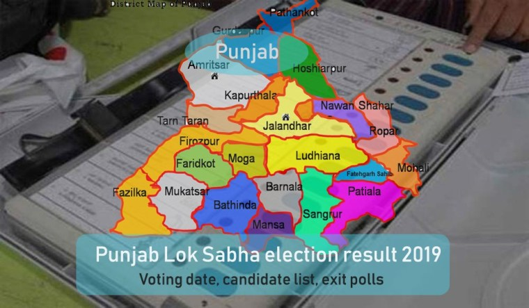 Punjab Lok Sabha Elections Results 2019: Live Vote Counting, Party