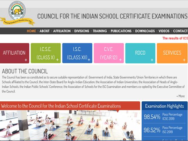 ICSE ISC 10th 12th Compartment Results 2019 Check Supply Scorecard