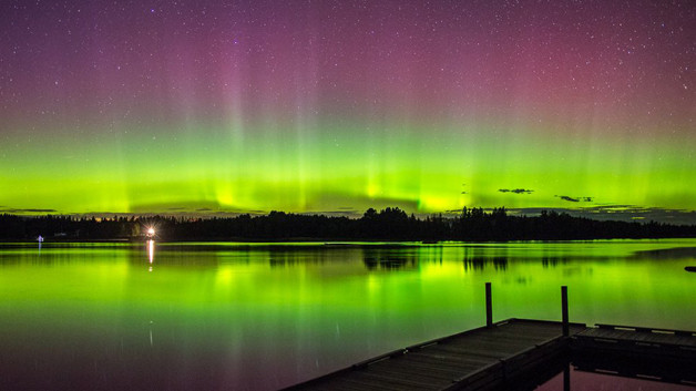 The Northern Lights Will Be Visible Over the U S  Tonight