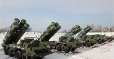 S400 air defence system